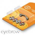 Bonus Pack 16g Eyebrow with gems