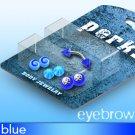 Bonus Pack 16g Eyebrow Blue