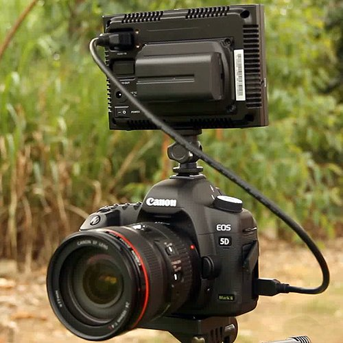 5 inch RUIGE TL-S500HD On-camera HD LCD small Field Monitor for DSLR CANON 5D 7D HD Video Cameras