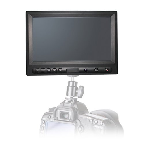 """COOLLCD CL8 8"""" inch On-camera HD LCD Field monitor w/ HDMI DVI for camera CANON 5D&7D"""