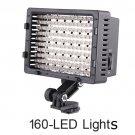 free shipping+CN-160 LED 5400K camera Video Light for  DV Camcorder Lighting
