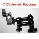 free shipping+7'' DV Articulating Magic arm w/ DSLR rig clamp rod clamp fr 5D2 7D 60D
