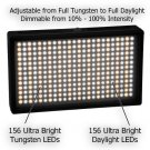 312AS Bi-Color Changing Dimmable On-Camera LED Video Light  + free shipping + 2-6 days to USA