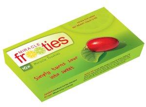 Miracle Fruit Berry Miracle Fruit Miraculin green Miracle Frooties 350mg Taste Trip