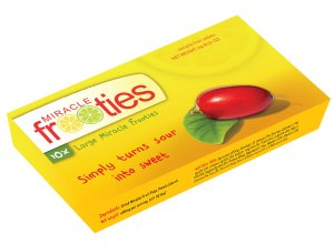 Miracle Fruit Berry Miraculin Miracle Fruit Tabs Miracle Frooties 600mg Taste Trip