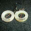 Circle Shell Earrings