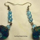 Teal Fancy Earrings