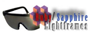 Mind Modulations Ruby/Sapphire Lightframes for the Proteus Light and Sound Mind Machine