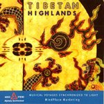 Tibetan Highlands AudioStrobe CD for Light and Sound Mind Machines