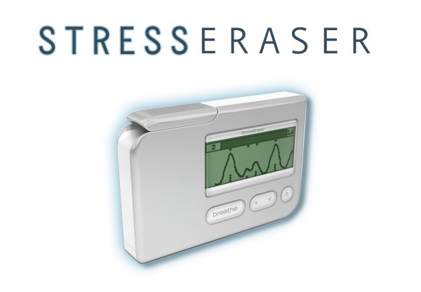 The StressEraser Portable Biofeedback Device