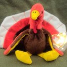 Gobbles the Turkey Ty Beanie Baby from 1996