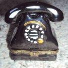 Ceramic old-fashioned telephone box