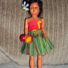 Vintage Hawaiian Hula Girl Souvenir Doll