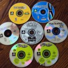 4 Playstation Games and 3 Playstation Magazine discs