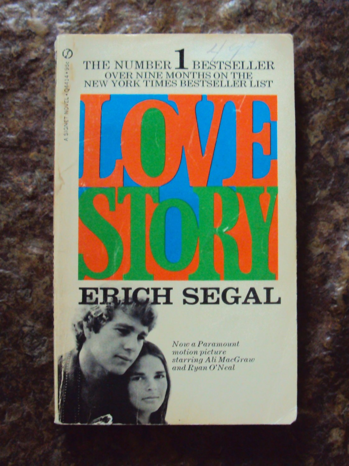 Love Story, by Erich Segal, 1971