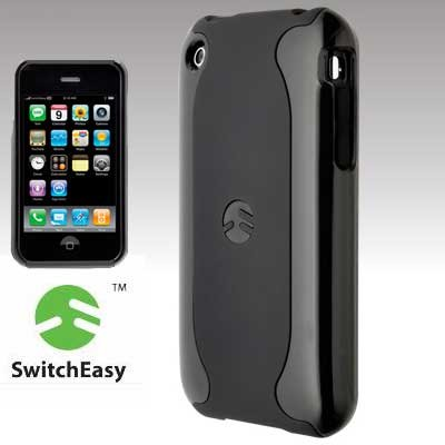SwitchEasy Neo Case for iPhone 3G, 3G S (Black)