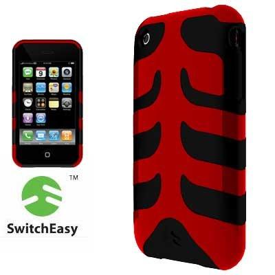 SwitchEasy SW-CAP-REB-D Rebel Case For iPhone 3G (Devil)