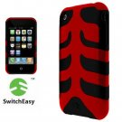 SwitchEasy SW-CAP-REB-D Rebel Case For iPhone 3G (Devil)