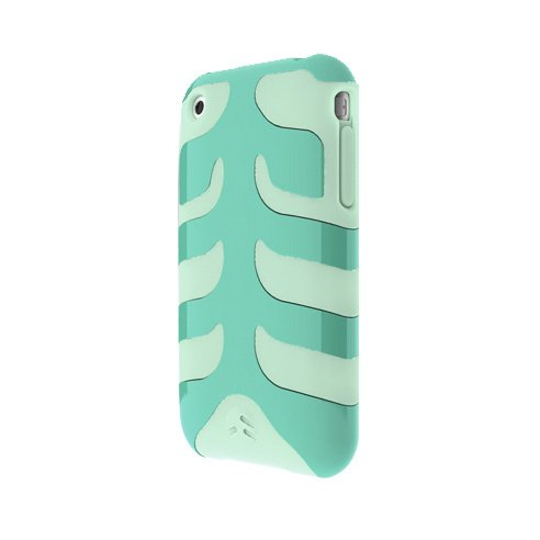 SwitchEasy SW-CAP-REB-M Rebel Case For iPhone 3G (Monstera)