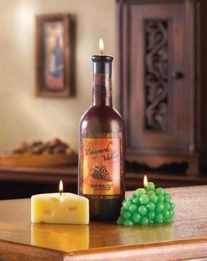 Wine & Cheese Candle Set