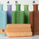 A KU-21 Crescent NOT TO BE TAKEN poison bottle beeswax candle - Many colors are available!