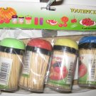 Toothpicks - 4 dispensers full - Lot of 48 - 69¢ each