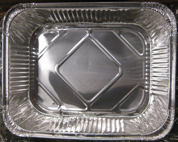 Aluminum pan 1/2 size - lot of 100 - 33¢ each
