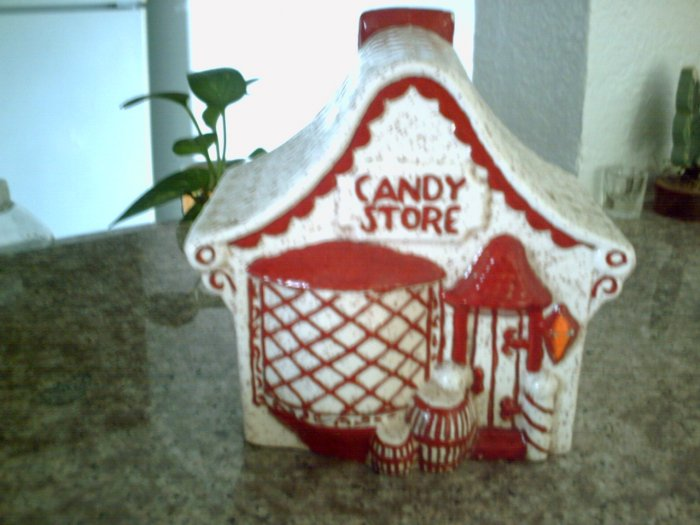 Christmas Candy Store Piggy Bank