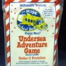 McDonald's Magic School Bus Happy Meal (1994) - Under 3 Undersea Adventure Game MIP