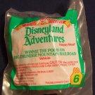 McDonald's Disneyland Adventures Happy Meal (1995) - #6 Winnie The Pooh On Big Thunder Mountain MIP