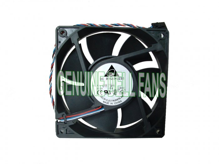 Genuine Dell Fan Dimension 9100 Front Case Cooling Fan D8794 P8192 120x38mm