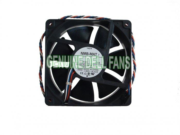Genuine Dell Optiplex GX620 Tower Case Fan G9096 Y4574 120x38mm 5-pin Fan New