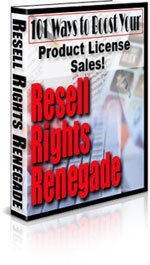 Resell Rights Renegade