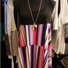 Babydoll Geometric Pattern Dress
