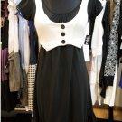 Black Jersey Vest Dress