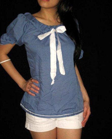 Blue Sailor White Rib