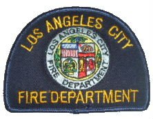 Los Angeles Fire Department City Seal Patch