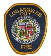 Los Angeles Fire Department Shoulder Patch