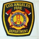Official Black LAFD Uniform Patch