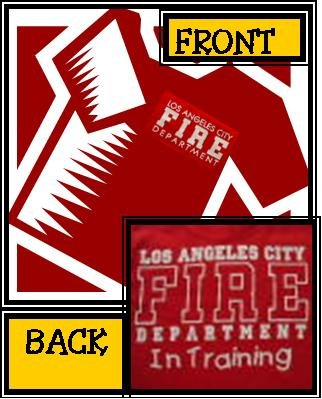 Red Kids LAFD , In Training T-Shirt