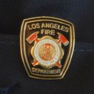 Black LAFD Firefighter Lapel Pin