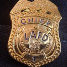 LAFD Chief Lapel Pin