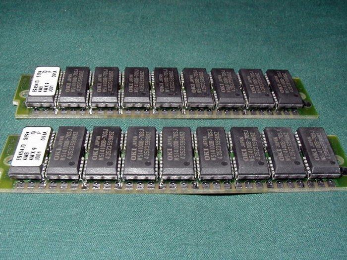 4MB 4M x 9 30pin 70ns SIMM E45470.
