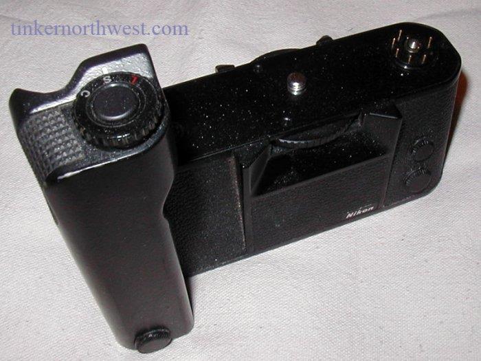 Nikon MD4 Motor Drive for Nikon F3 HP Camera
