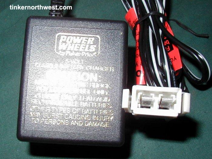 Power Wheels C-6080 00801-0975 6-Volt Charger