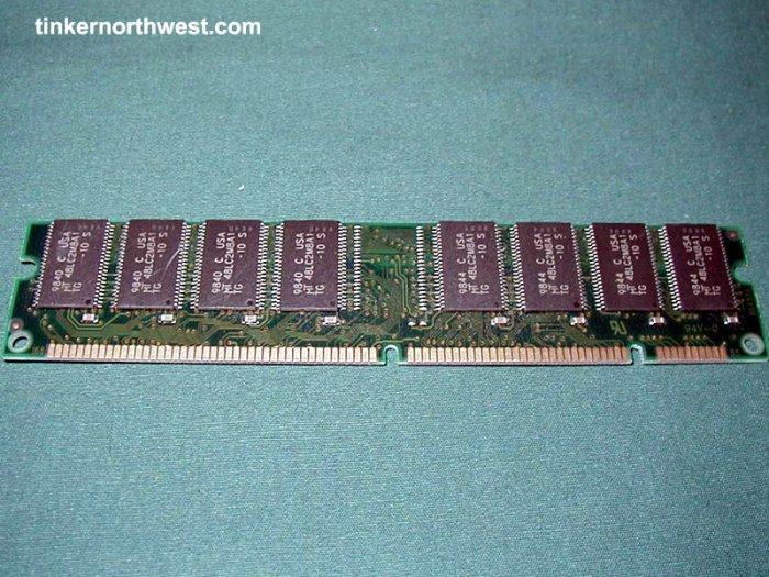 DIMM 32MB PC133 168 PIN SDRAM RAM MEMORY