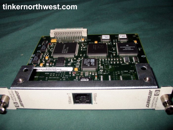 HP NETWORK CARD JETDIRECT J2550-60003 J4 M4 M5 Printer