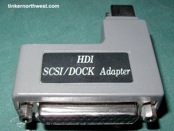 Apple Powerbook SCSI Adapter Mac SCSI HDI SCSI/DOCK