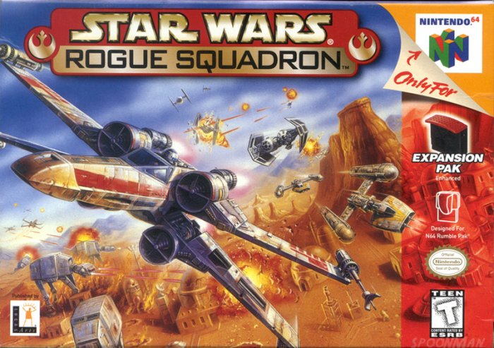 N64 NINTENDO 64 SYSTEM GAME STAR WARS ROGUE SQUADRON