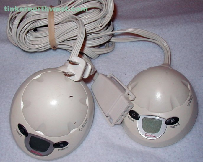 Sunbeam King Electric Dual Control Unit PAC215